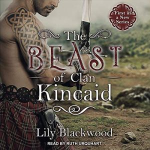 The Beast of Clan Kincaid audiobook cover art