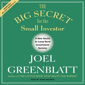 The Big Secret for the Small Investor audiobook cover art