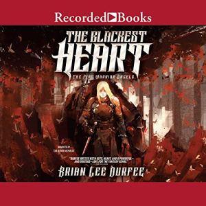 The Blackest Heart audiobook cover art