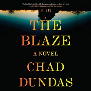 The Blaze audiobook cover art