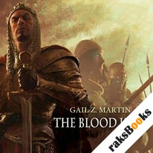 The Blood King audiobook cover art