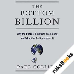 The Bottom Billion audiobook cover art