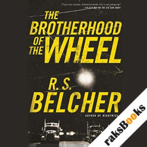 The Brotherhood of the Wheel audiobook cover art