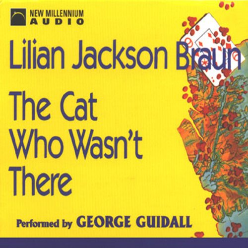 The Cat Who Wasn't There audiobook cover art