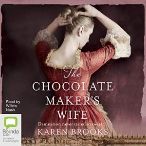 The Chocolate Maker's Wife audiobook cover art