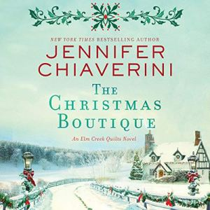 The Christmas Boutique audiobook cover art