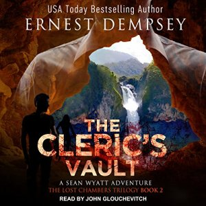 The Cleric's Vault audiobook cover art