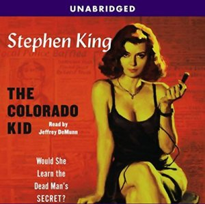 The Colorado Kid audiobook cover art
