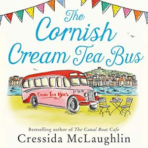 The Cornish Cream Tea Bus audiobook cover art