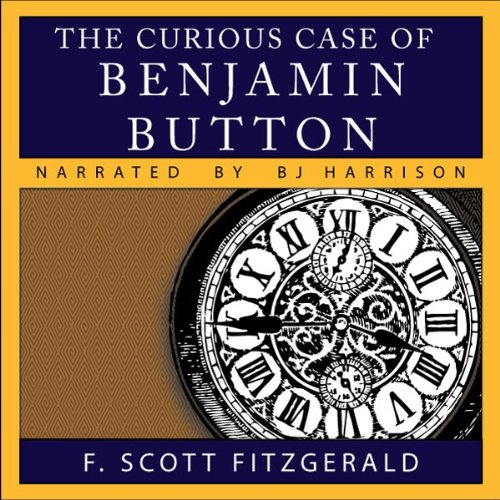 The Curious Case of Benjamin Button audiobook cover art
