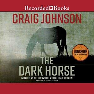 The Dark Horse audiobook cover art
