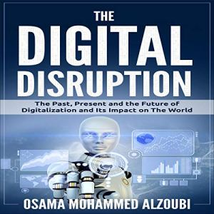 The Digital Disruption audiobook cover art