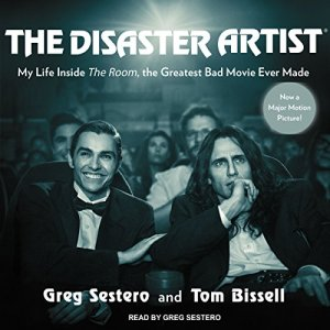 The Disaster Artist audiobook cover art