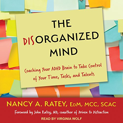 The Disorganized Mind audiobook cover art