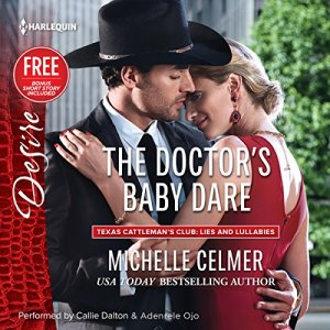 The Doctor's Baby Dare audiobook cover art