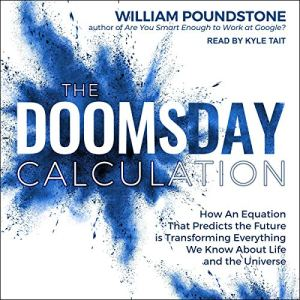The Doomsday Calculation audiobook cover art