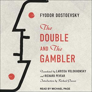 The Double and The Gambler audiobook cover art