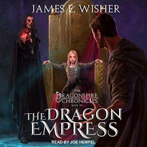 The Dragon Empress audiobook cover art