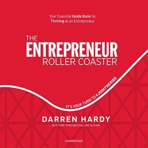 The Entrepreneur Roller Coaster audiobook cover art