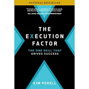 The Execution Factor audiobook cover art