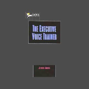 The Executive Voice Trainer audiobook cover art