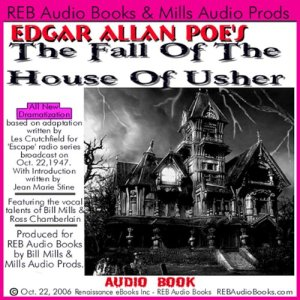 The Fall of the House of Usher (Dramatized) audiobook cover art