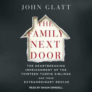 The Family Next Door audiobook cover art