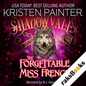 The Forgettable Miss French audiobook cover art