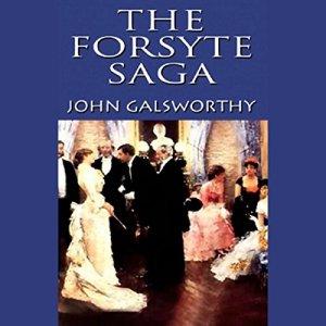 The Forsyte Saga audiobook cover art