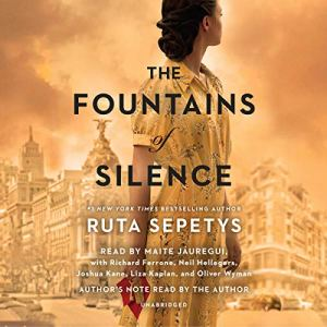 The Fountains of Silence audiobook cover art