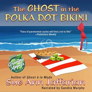 The Ghost in the Polka Dot Bikini audiobook cover art