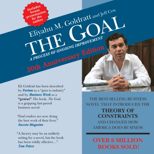 The Goal audiobook cover art