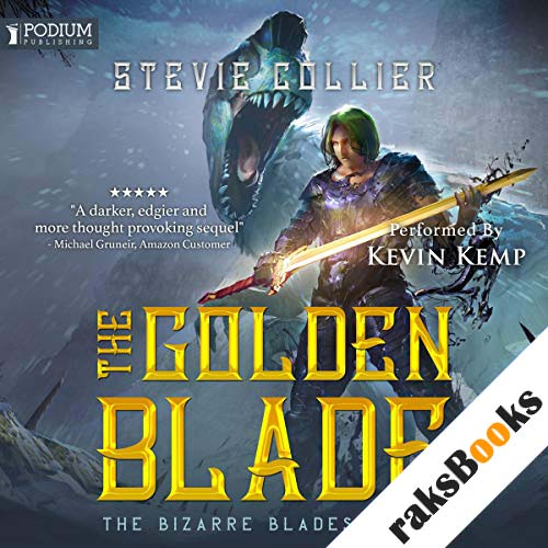 The Golden Blade audiobook cover art