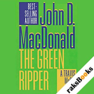 The Green Ripper audiobook cover art