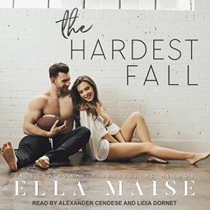 The Hardest Fall audiobook cover art
