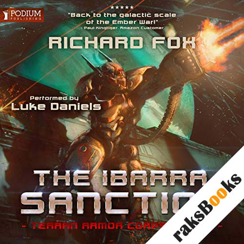 The Ibarra Sanction audiobook cover art