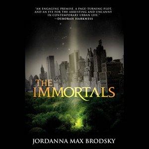The Immortals audiobook cover art
