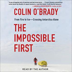 The Impossible First audiobook cover art