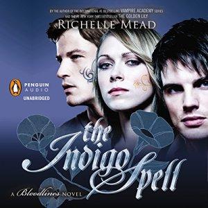 The Indigo Spell audiobook cover art