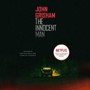 The Innocent Man audiobook cover art