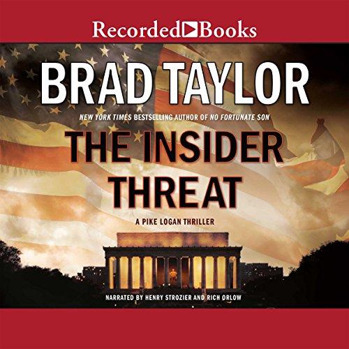 The Insider Threat audiobook cover art
