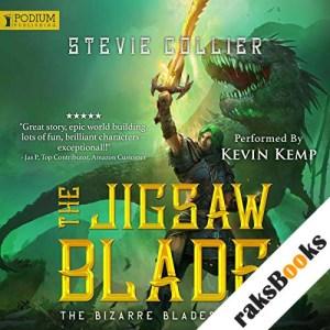 The Jigsaw Blade audiobook cover art