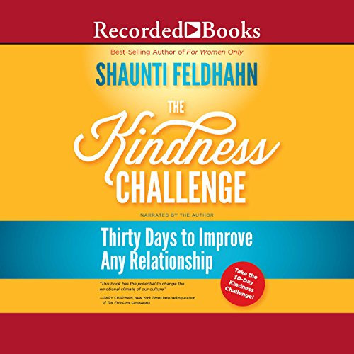 The Kindness Challenge audiobook cover art