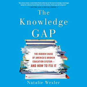 The Knowledge Gap audiobook cover art