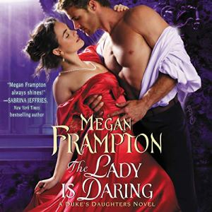 The Lady Is Daring audiobook cover art