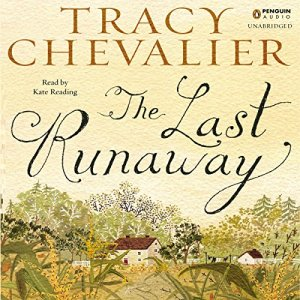 The Last Runaway audiobook cover art