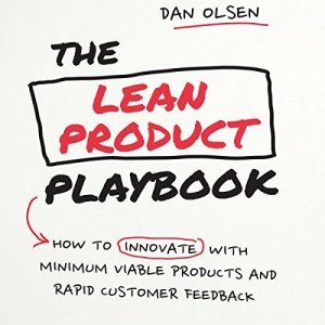 The Lean Product Playbook audiobook cover art