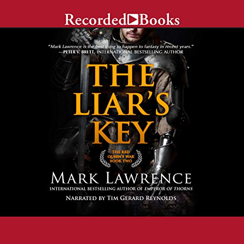 The Liar's Key audiobook cover art