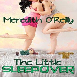 The Little Sleepover audiobook cover art