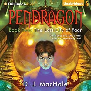 The Lost City of Faar audiobook cover art